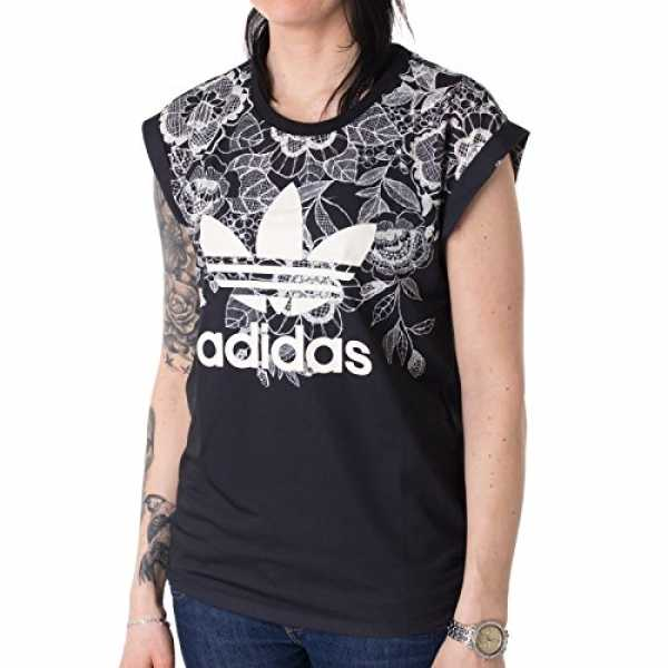 adidas Damen Florido T-Shirt, Multicolor, 38