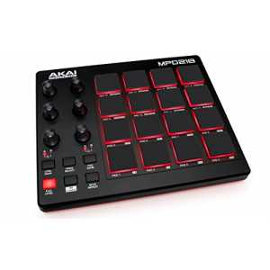 AKAI Professional MPD218 USB MIDI Pad Controller (mit 16x3 MPC Pads und 6x3 360° Potentiometer, Softwarepaket, Deep House Sample Pack bis 31/12)