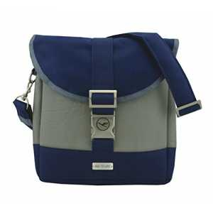 BAG TO LIFE Lufthansa Daybag Buisness Class Rucksack Backpack Schultertasche Upcycling aus einer Rettungsweste Made i...