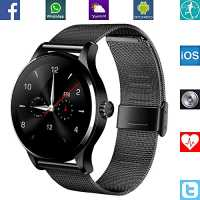 Banaus® B4 Newest SmartWatch with Bluetooth 4.0 Support Heart Rate Monitor for Samsung Galaxy S4/S5/S6/S7/Note3/Note4/Note5/Note6 HTC Sony LG Xiaom...