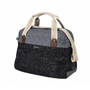 Basil Damen Boheme Carry All Fahrradtasche Charcoal, 44 x 17 x 31 cm