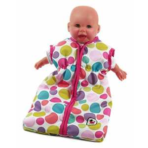 Bayer Chic 2000 792 17 - Puppenschlafsack, pinky Bubbles