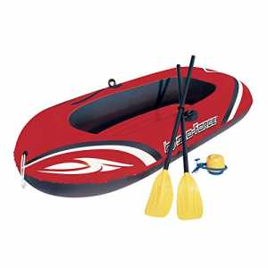 Bestway Hydro-Force Raft Set Boot 188x98 cm mit Blasebalg und 2 Rudern
