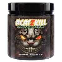 BPSpharma # CATZKILL Paranoia By Not4Pussy Most Hardcore PreWorkout Booster Trainingsbooster Bodybuilding - 245g (Cat Berrys - Rote Beeren)