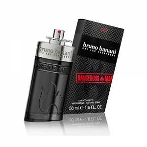 bruno banani Dangerous Man Eau de Toilette Natural Spray, 50 ml