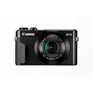Canon PowerShot G7 X Mark II Digitalkamera mit klappbarem Display (20,1 Megapixel, 4,2-fach optischer Zoom (7,5 cm (3 Zoll) LCD-Display, Touchscree...