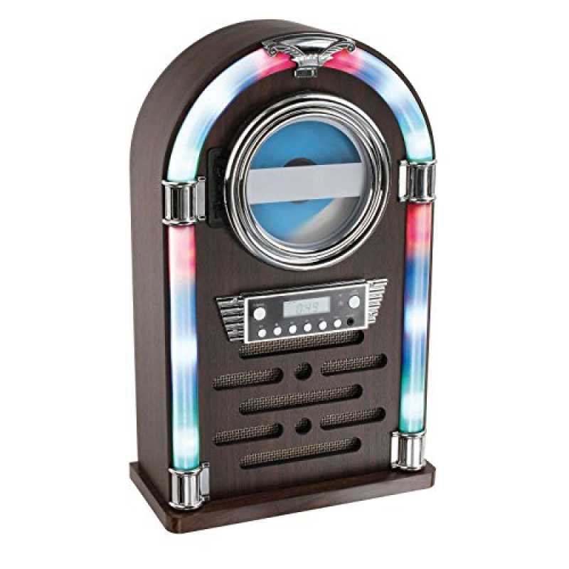 bluetooth cd player als jukebox musikbox radio retro farbwe trend 2020. Black Bedroom Furniture Sets. Home Design Ideas