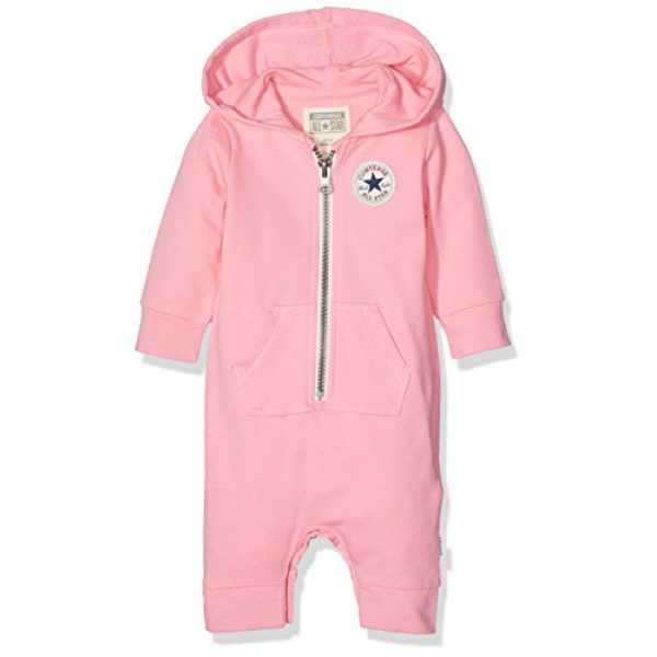 Converse Baby-Mädchen Kapuzenpullover C.T.P Core Coverall Hoodie, Pink (Pink Glow), 0-3 Monate