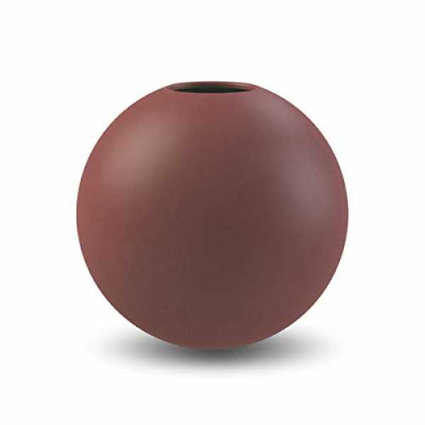 Cooee Design Ball Vase 10cm Plum