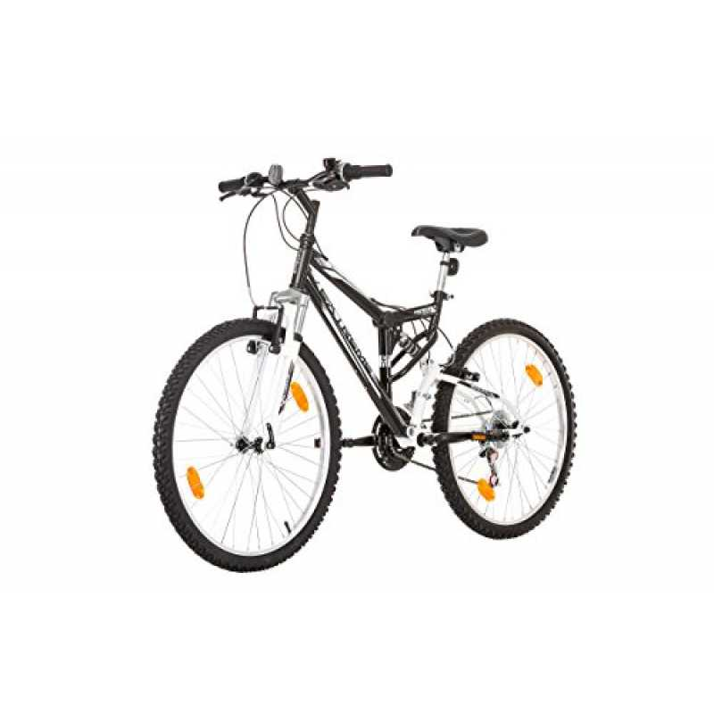 26 zoll coollook extreme fahrrad fully full suspension m. Black Bedroom Furniture Sets. Home Design Ideas