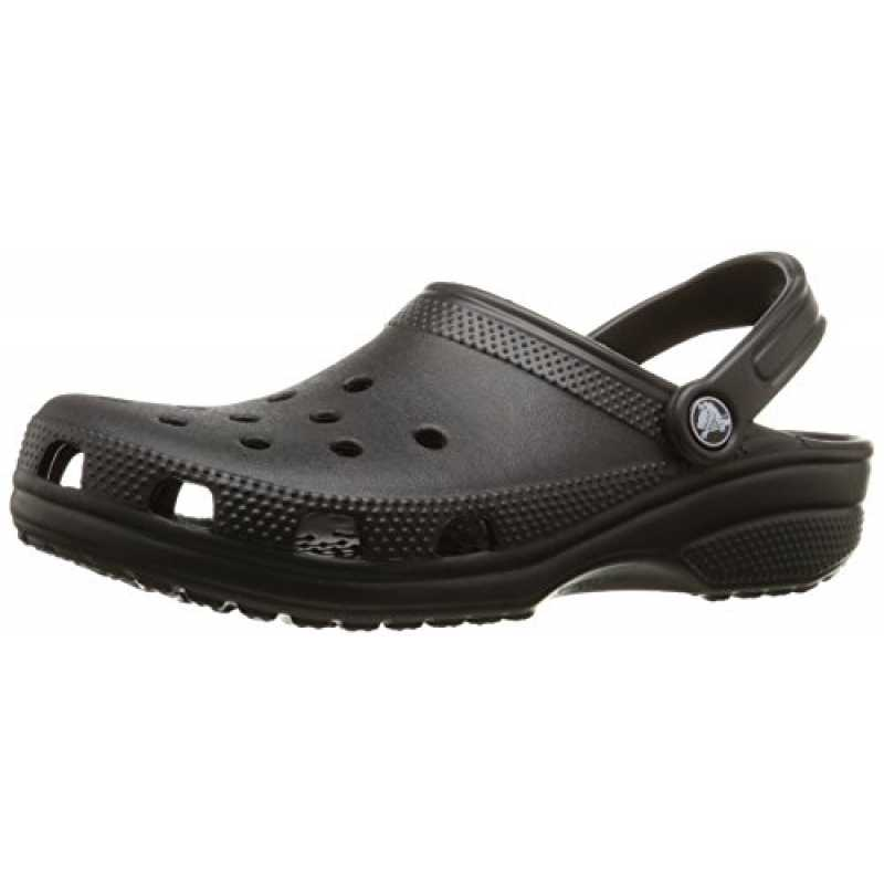 cheap for discount 0a2c4 d882b Crocs Classic Unisex Clogs, Schwarz (Black 001), Gr. 43-4 ...