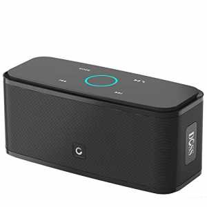 DOSS SoundBox- Kabellose Portabler Bluetooth Lautsprecher mit unglaublicher 12-Stunden Spielzeit & Sensitive-Touch Wireless Speakers mit TF Karte F...
