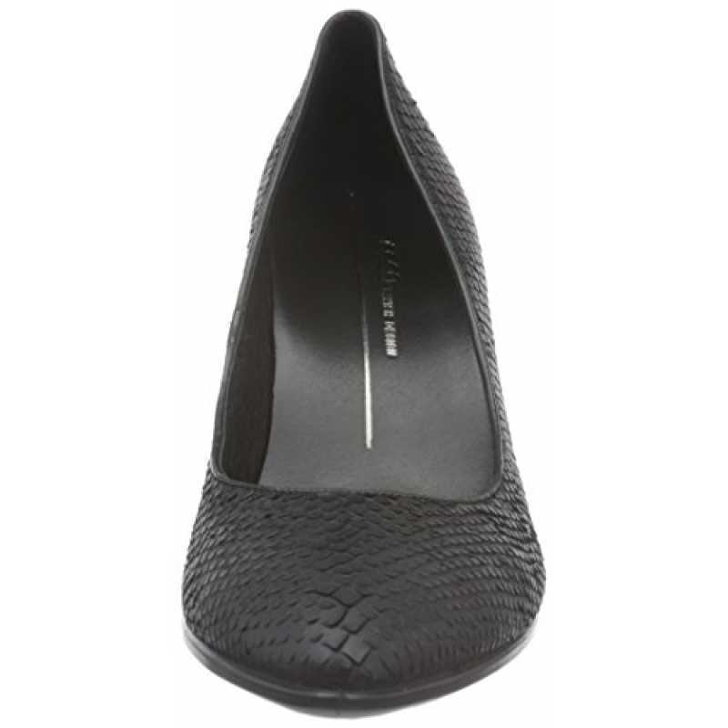 Ecco Damen Shape 75 Pointy Pumps, Schwarz (BLACK1001), 39 E