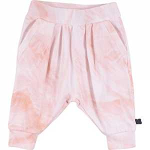 Fred's World by Green Cotton Baby-Mädchen Hose Feather Baggy Pants, Rosa (Rose 014130901), 86