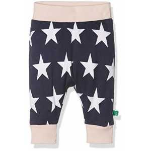 Fred's World by Green Cotton Baby-Mädchen Hose Star Funky Pants, Rosa (Rose 014130901), 92