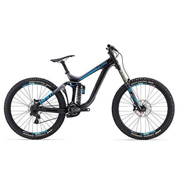 Giant Glory Advanced 0 27, 5 Zoll Mountainbike Schwarz/Blau (2017), 43