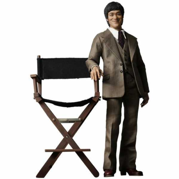 """Bruce Lee in 1970 Suit Anzug 12"""" Figur 1/6 Movie Icon Hot Toys"""