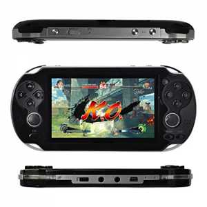 Kasit 1PC Handheld 4.3inch 8GB Video Game Console Free 100+ Games MP4 MP5 Players With Dual Joystick Camera Classic Portable Retro Game Player Birt...