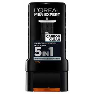 L'Oréal Men Expert Duschgel Carbon Protect, 2er Pack (2 x 300 ml)