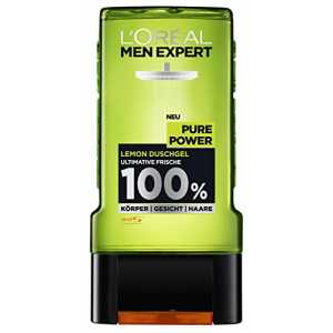 L'Oréal Men Expert Duschgel Pure Power, 2er Pack (2 x 300 ml)
