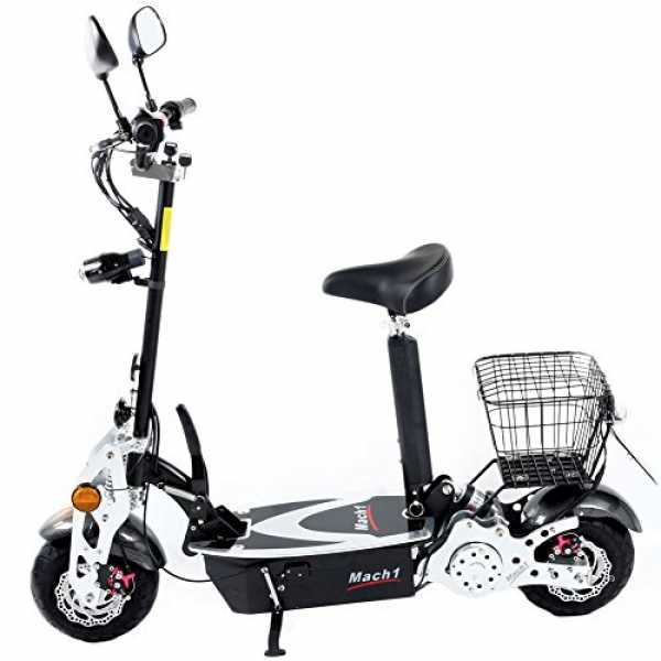 original mach1 elektro e scooter 1000w 48v motor mit stra trend 2019. Black Bedroom Furniture Sets. Home Design Ideas