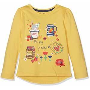 Mothercare Baby-Mädchen T-Shirt Mg Farm Yellow Ls Bunny Ate My Greens Tee, Gelb, 86