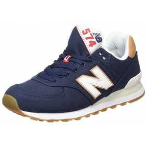 New Balance Herren ML574Y Yatch Pack Sneaker, Blau (ML574YLC), 41.5 EU