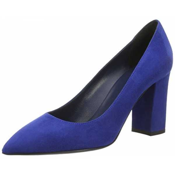 Pollini Damen Shoes Pumps, Blau (Ocean 753), 38 EU