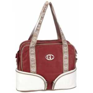 Poodlebags GERMAN COUTURE - classical cruise - Rostock - 3GC0312ROSTR, Damen Laptop-Taschen, Rot (red), 38 x 13 x 30 cm (B x H x T)