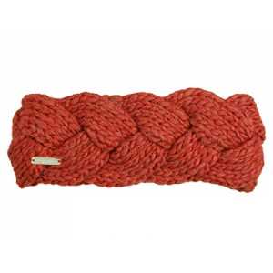 Seeberger Cable Knit Stirnband Headband Stirnwärmer Ohrenschutz Ohrenwärmer Ohrenschutz Ohrenwärmer (One Size - rost)