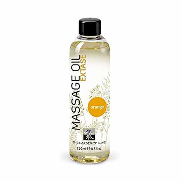 SHIATSU Massage Oil - Extase Orange, 250 ml
