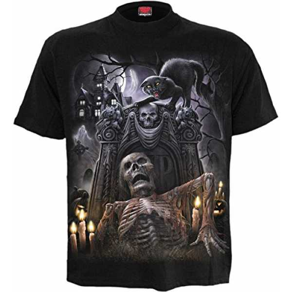 Spiral Living Dead T - Shirt Steampunk Monster Gothic