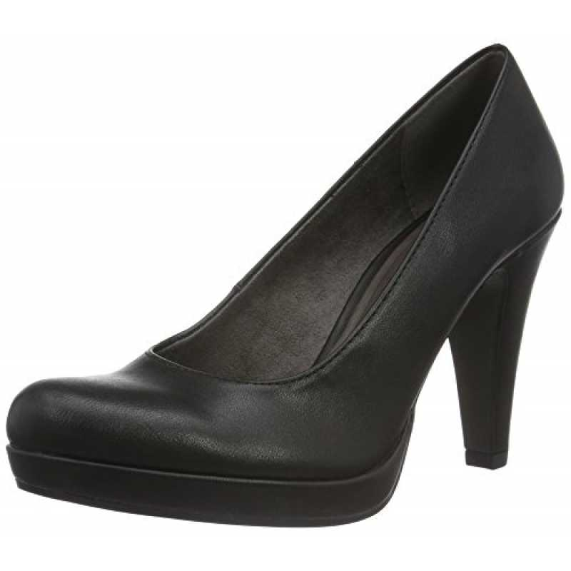 Tamaris Damen 22466 Pumps, Schwarz (Black Matt 020), 37 EU