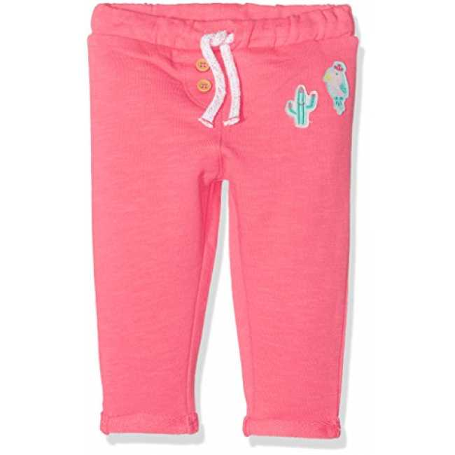 TOM TAILOR Kids Baby-Mädchen Hose Sweat Pant with Badges, Orange (Flashy  Coral 0a84df206b